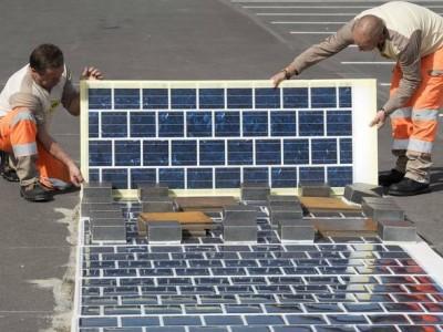 Η Γαλλία θα επικαλύψει 1000km οδοστρώματος με φωτοβολταϊκά!